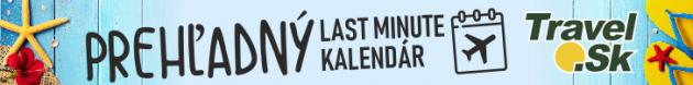 Last minute Kalendár