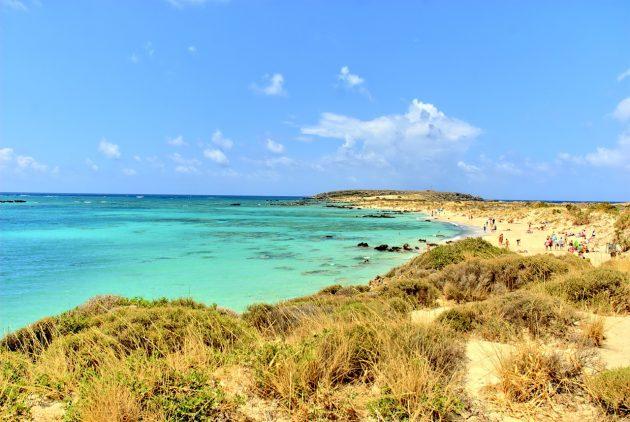 Pláž Elafonisi