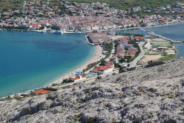 Pag pláž Prosika