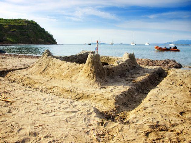 Pláž ostrov Susok